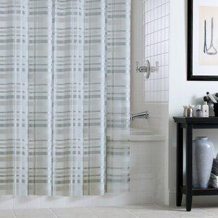 Buxton PEVA Tartan Plaid Shower Curtain