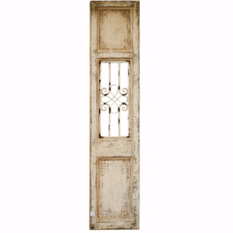 Fleur De Lis Living Old-Fangled French Country Decorative Panel Wall ...
