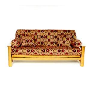 Zone Box Cushion Futon Slipcover