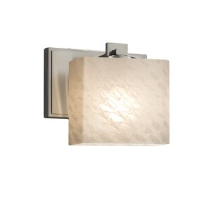 Online Reviews Luzerne 1-Light Armed Sconce By Brayden Studio