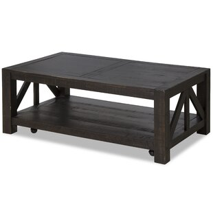 Reviews Wendy Rustic Coffee Table By Trule Teen