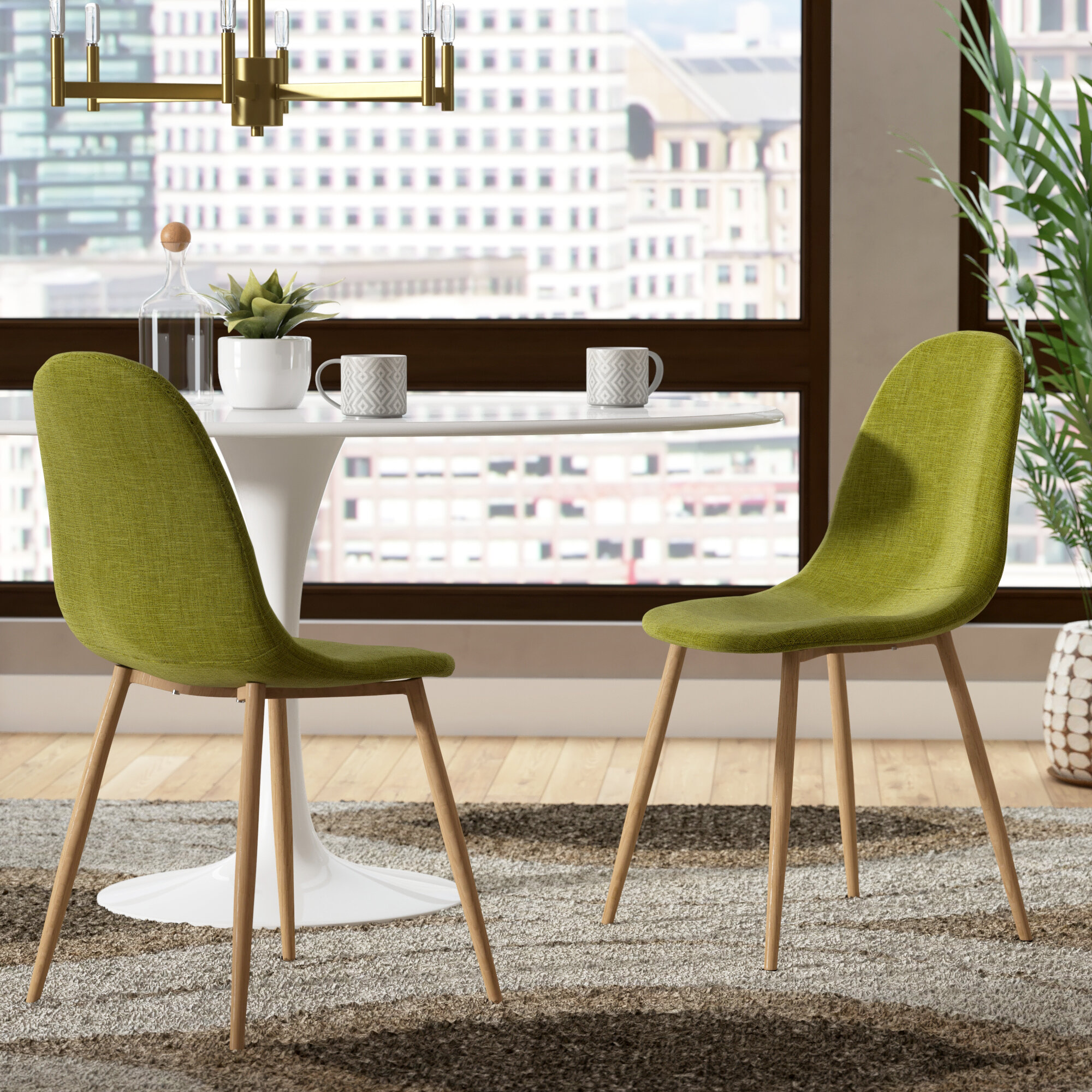 George Oliver Christopher Upholstered Dining Chair Reviews Wayfair