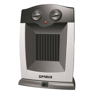 1,500 Watt Portable Electric Compact Heater with Thermostat