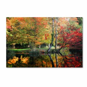 I'll Be There by Philippe Sainte-Laudy Framed Photo Graphic Print on Canvas by Trademark Fine Art
