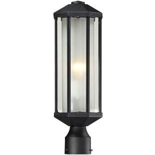 Affordable Weishaar 1-Light 18 Post Light By Winston Porter