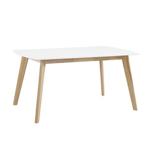 Exceptional Urijah Retro Modern Dining Table