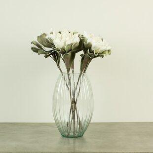 Faux long stem flowers wayfair white faux flower stem set of 6 mightylinksfo