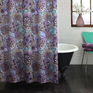 Mira Ode to Geode Shower Curtain