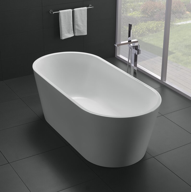 60 x 30 freestanding tub. Alexa 60  x 30 Soaking Bathtub Eviva Reviews Wayfair