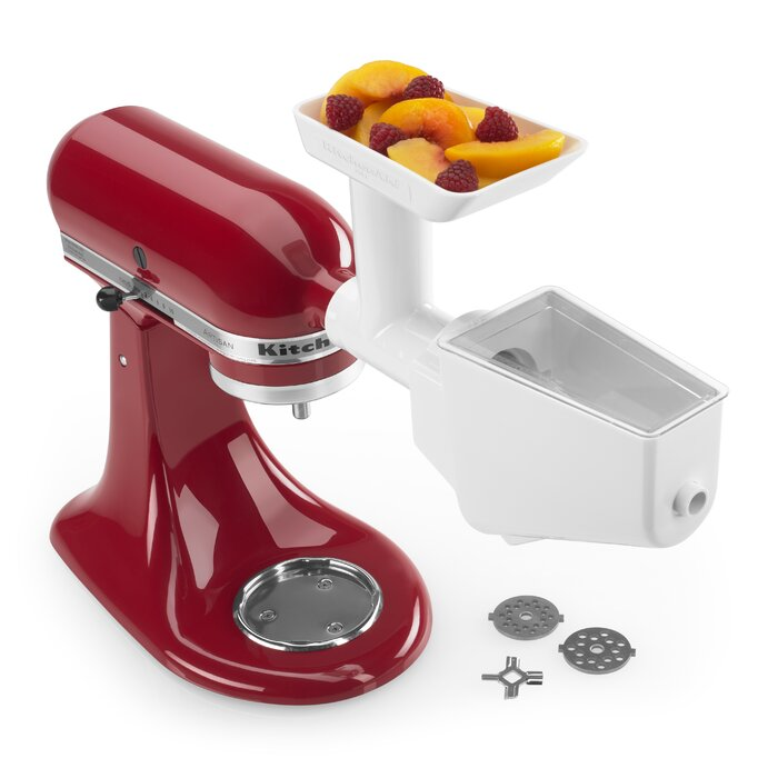 KitchenAid Fruit and Vegetable Strainer/Grinder Attachment