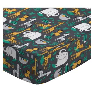 Buy luxury Dahlonega Jungle Animals 3 Piece Crib Bedding Set ByZoomie Kids