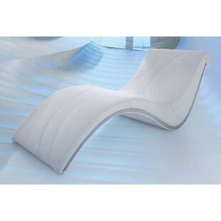 Desousa Modern Curve Shaped Chaise Lounge