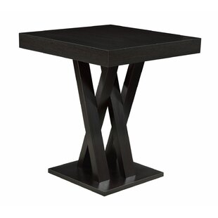 Hodder Counter Height Solid Wood Dining Table