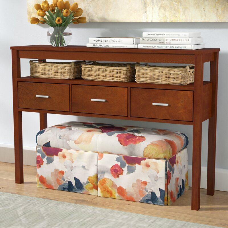 Bristol Wood Drawer Console Table