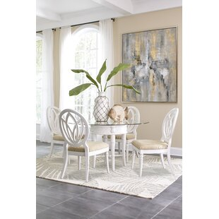 Isle of Palms 5 Piece Solid Wood Dining Set ByPanama Jack Home