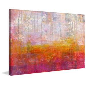 'Enlightened' Oil Painting Print on Wrapped Canvas by Ivy Bronx