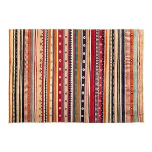Best Reviews One-of-a-Kind Lori Hand-Knotted Multicolor Area Rug By Darya Rugs