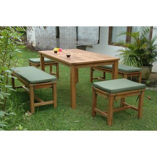Montage 5 Piece Teak Dining Set By Anderson Teak