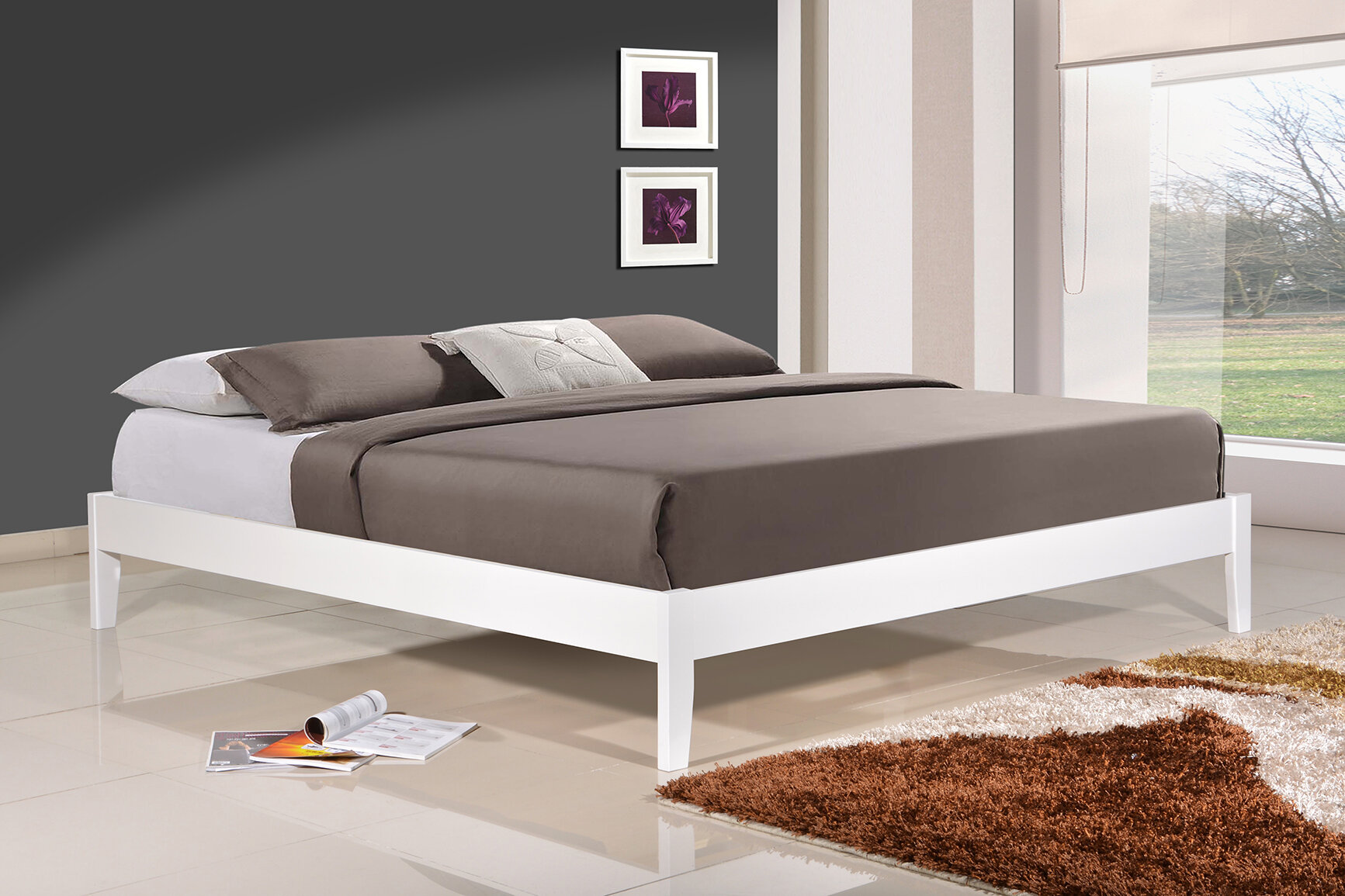 altozzo manhattan platform bed reviews wayfair