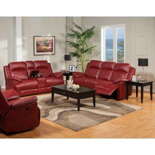 Jemima 3 Piece Reclining Configurable Living Room Set by Red Barrel Studio®