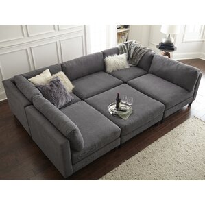 Grey Sectional Couches gray sectional couch you'll love | wayfair