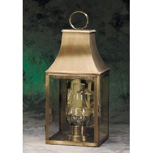 Great choice Brook Farm 1-Light Outdoor Wall Lantern By Darby Home Co
