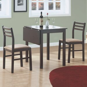 Arquette 3 Piece Dining Set by Andover Mills