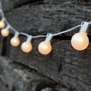 Compare prices 25 Light Globe String Lights By Wintergreen Lighting