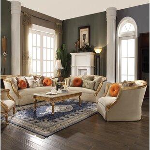 Domenic 3 Piece Living Room Set by Willa Arlo™ Interiors