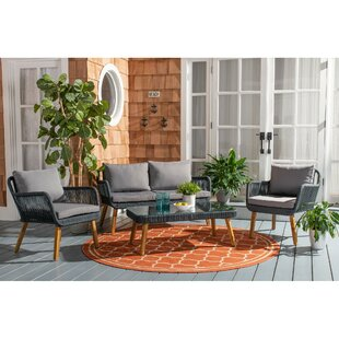 Peachy Fletcher 4 Piece Sofa Seating Group With Cushions Andrewgaddart Wooden Chair Designs For Living Room Andrewgaddartcom