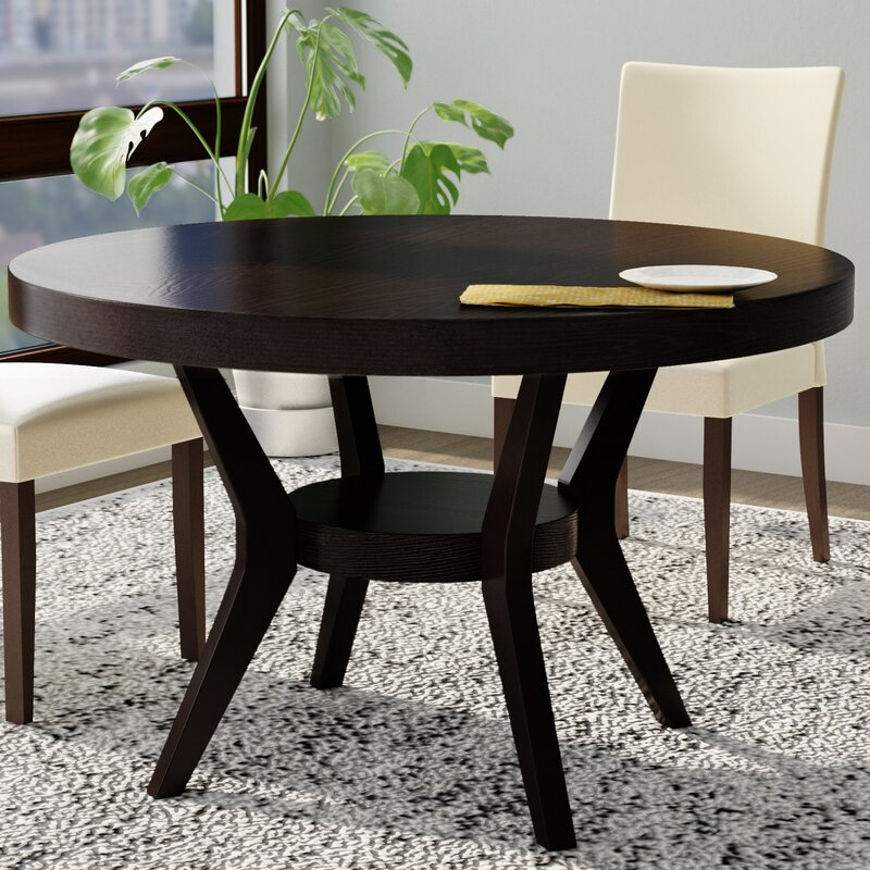 Transitional Dining Room Table: Connor Transitional Dining Table & Reviews