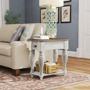 Best Price Quevillon End Table By Lark Manor