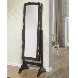 Abby Jewelry Armoire with Mirror by Be..