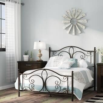 Perran Upholstered Panel Bed