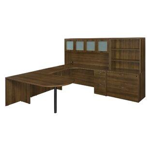 Fairplex 8-Piece L-Shape Desk Office Suite