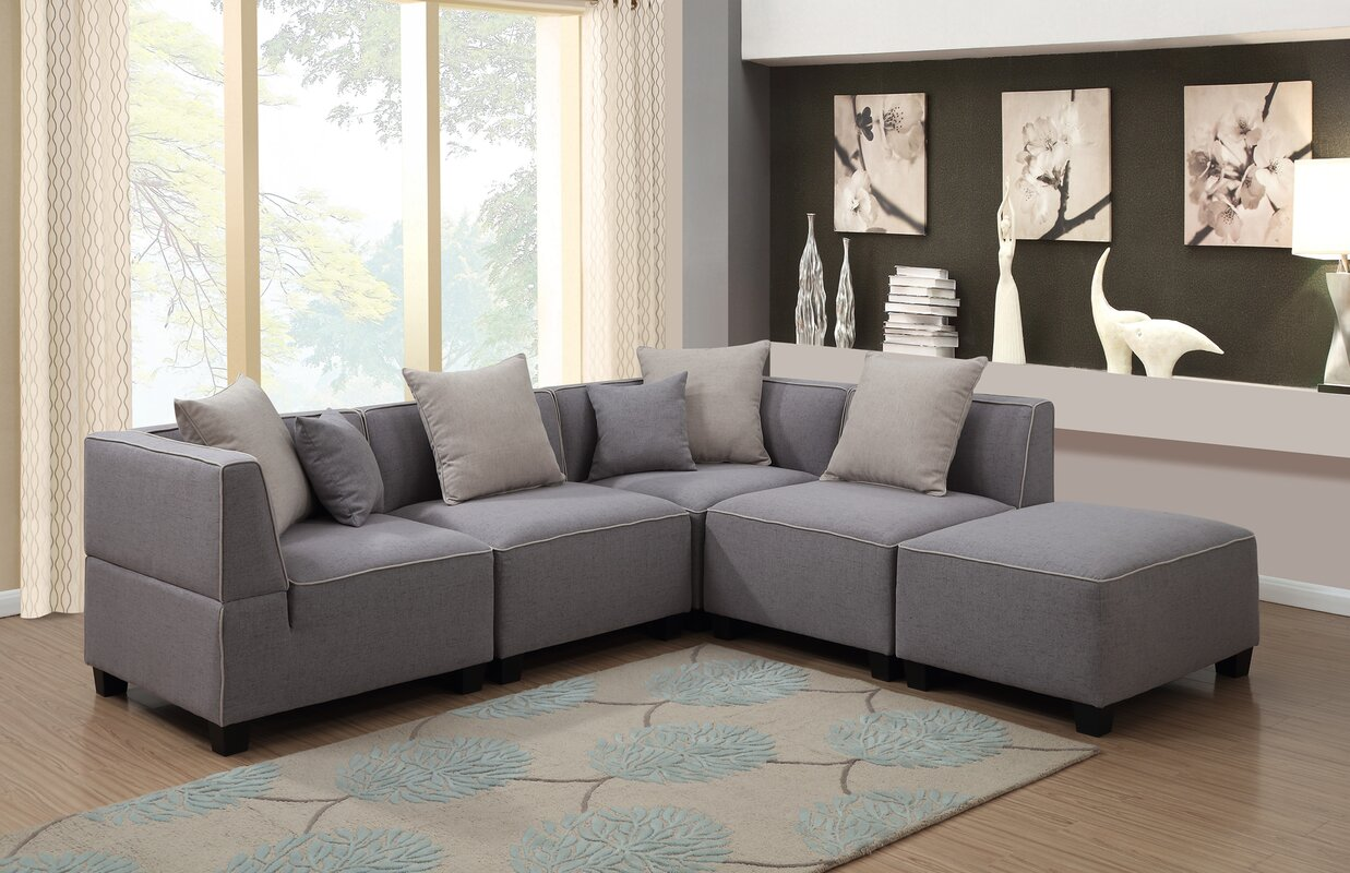 Awesome Holly Modular Sectional