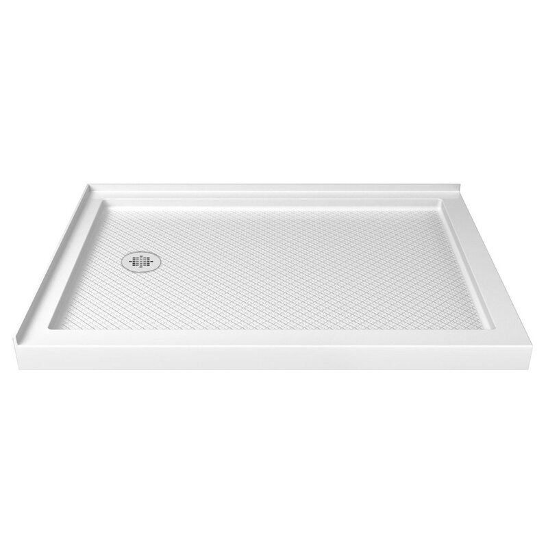 Slimline 48 X 36 Double Threshold Shower Base