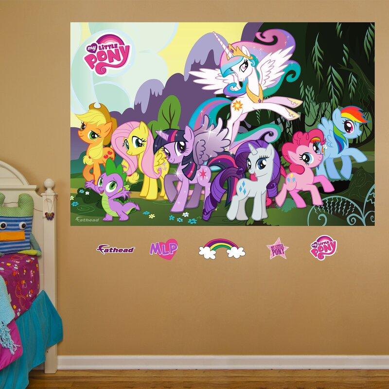 Fathead Hasbro My Little Pony Peel And Stick Wall Decal Wayfair