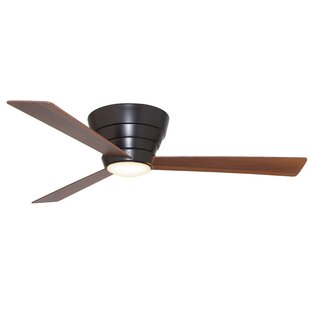 Bargain 54 Malik 3 Blade Ceiling Fan with Remote By Ivy Bronx