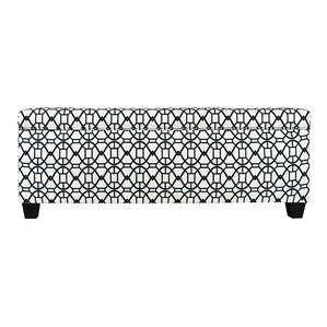 Noah Fabric Storage Bench by The Sole Secret