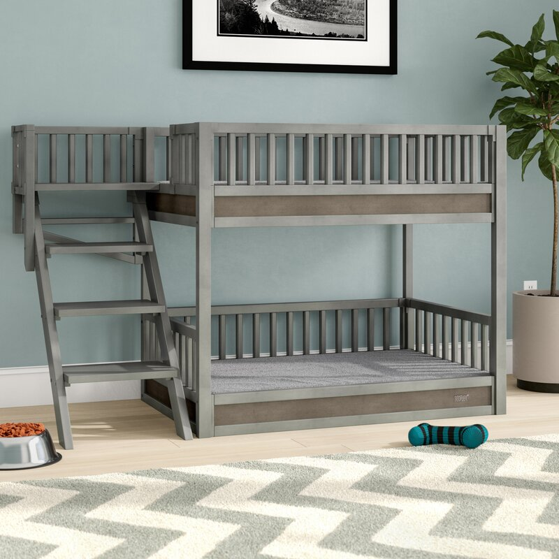 Tucker Murphy Pet Rosalyn Bunk Bed Dog Bed With Removable Cushions