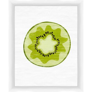 Kiwi Giclée Framed Graphic Art by PTM Images