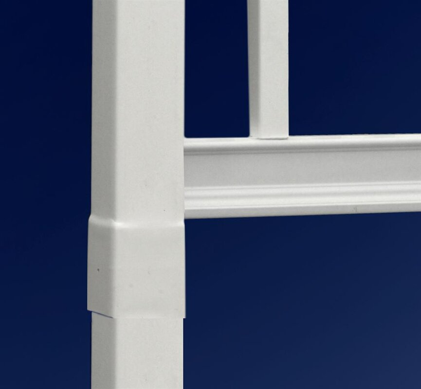 New england arbors milan vinyl lattice panel trellis for 1040 window countries