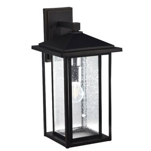 Read Reviews Adelaide Outdoor Wall Lantern By Breakwater Bay