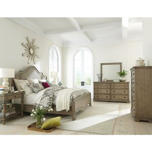 Paredes Panel Configurable Hardwood Bedroom Set by One Allium Way