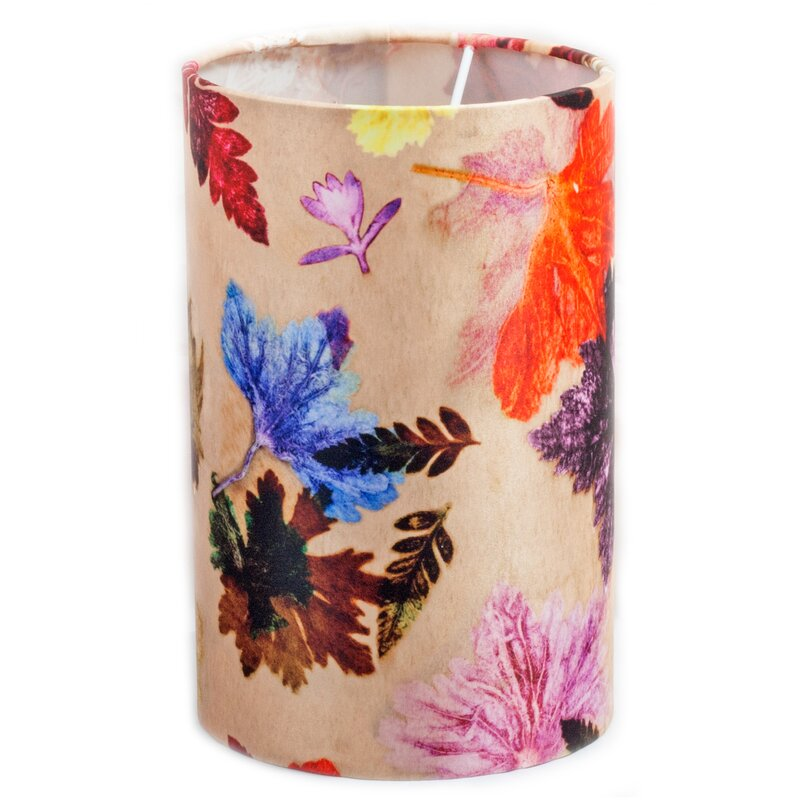 hazelwood home 20 cm lampenschirm autumn flurry aus stoff bewertungen. Black Bedroom Furniture Sets. Home Design Ideas