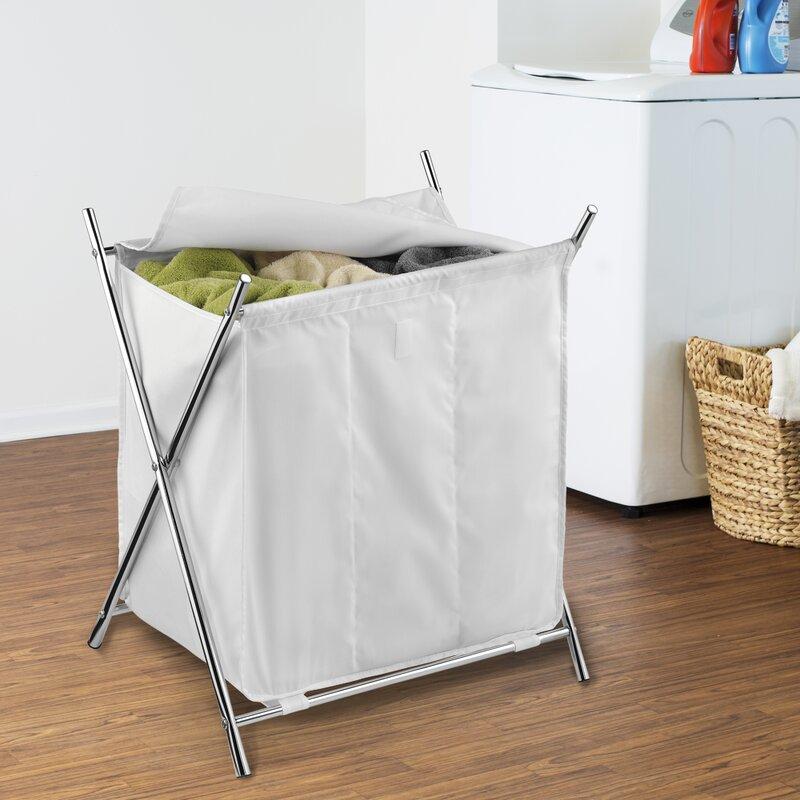 Triple Laundry Hamper