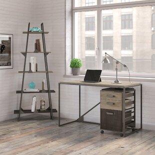 Edgerton Industrial 3 Piece Desk Office Suite by Greyleigh