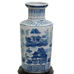 Christiane Blue and White Vase