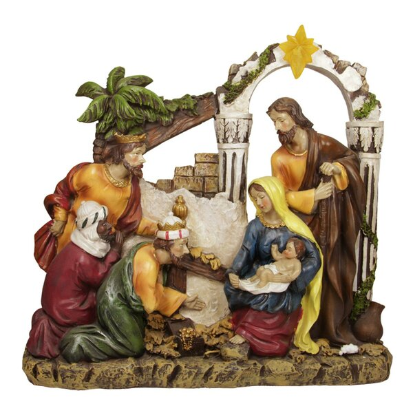 Nativity Outdoor Christmas Decorations.Outdoor Nativity Sets You Ll Love In 2019 Wayfair